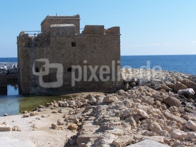 Paphos (Zypern): byzant. Hafenturm