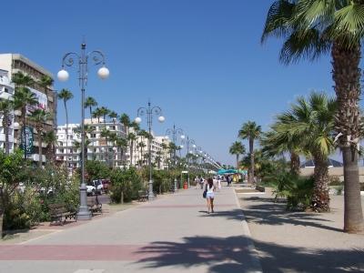 Promenade von Larnaca (Zypern)