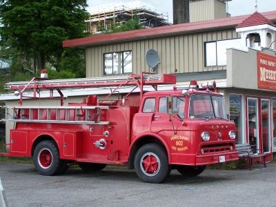 alte kanadische Feuerwehr