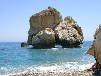 Petra Tou Roumiou (Aphrodite´s Geburtstagsort auf Zypern)