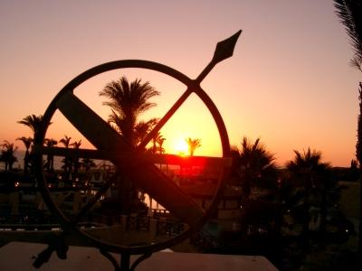 Sonnenuntergang 2 auf Zypern, Paphos