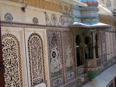 Im Maharadschapalast von Udaipur