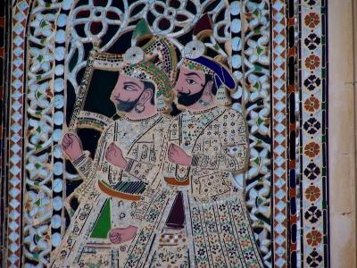 Im Palast von Udaipur/Indien