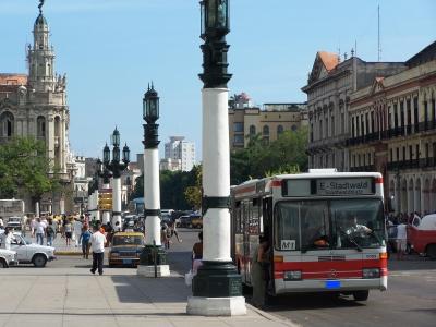 deutscher Bus in Havanna