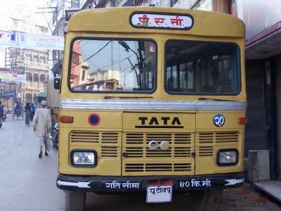 Tata-Bus Indien