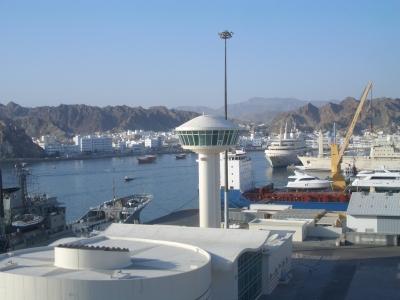 Der Hafen von Muskat, Oman