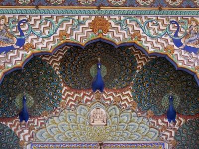 Am Maharadschapalast Jaipur