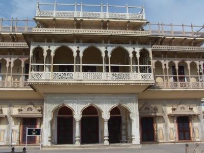 Maharadschapalast in Jaipur Indien