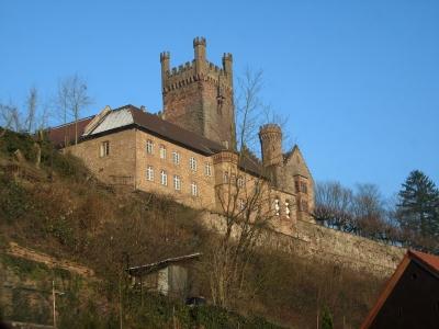 Mittelburg in Neckarsteinach
