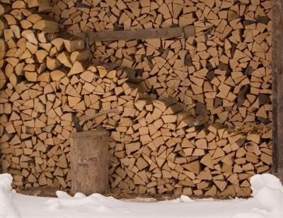 Mein Brennholzvorrat