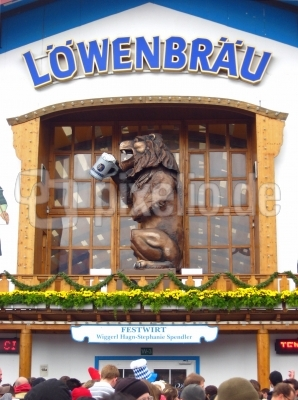 Oktoberfest Löwenbräu Löwe
