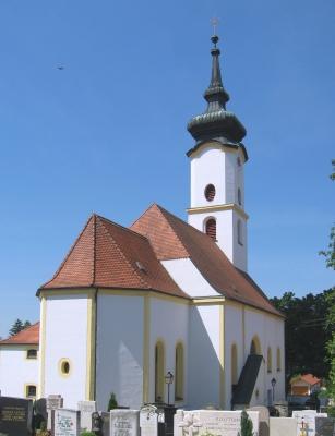 Kirche Gelting Rückansicht