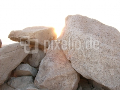Sonnenaufgang in der Wüste, Israel