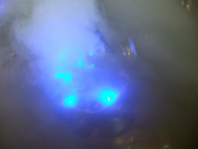 Nebel-Farb-Zauber blau