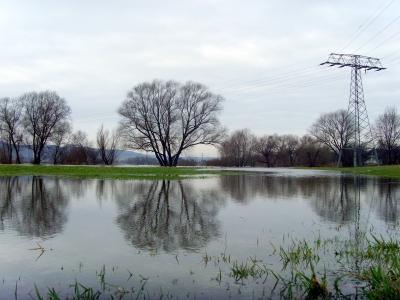 Der Winter geht; das Hochwasser kommt