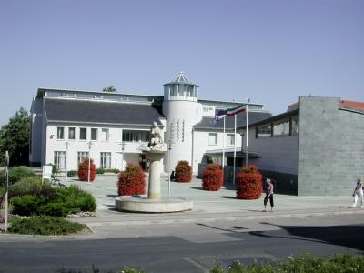 Rathaus in Hevize Ungarn