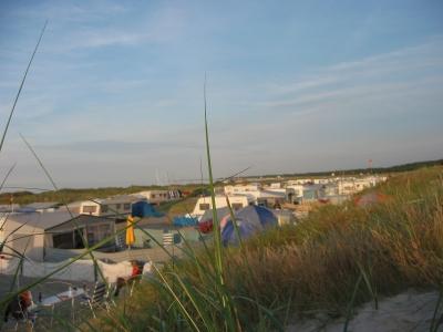 Campingplatz Prerow im Sommer