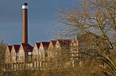 Rheine Wohngebäude an der Ems