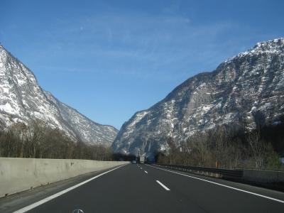 Auf der Autobahn 16