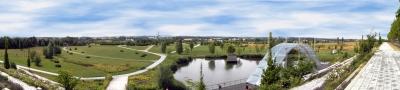 Panorama - Wismar/Bürgerpark