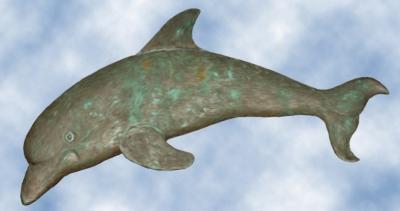 Bronzedelphin