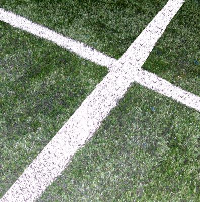 Fußballkreuz