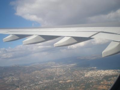 Start vom Flughafen Athen 2