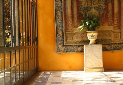 Im Königspalast von Sevilla