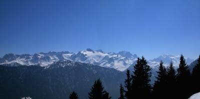 Französische Alpen bis zum Mont-Blanc