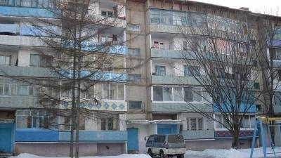 Wohnhaus in Russland