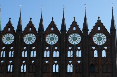Ausschnitt Rathaus Stralsund