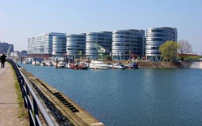 Impression Innenhafen Duisburg im Frühling 2009 #7