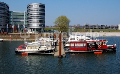 Impression Innenhafen Duisburg im Frühling 2009 #10