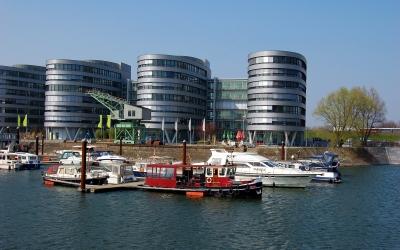 Impression Innenhafen Duisburg im Frühling 2009 #8