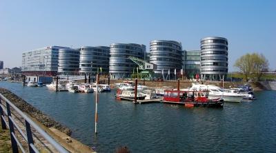 Impression Innenhafen Duisburg im Frühling 2009 #9