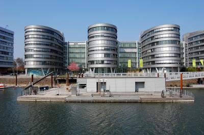 Impression Innenhafen Duisburg im Frühling 2009 #12