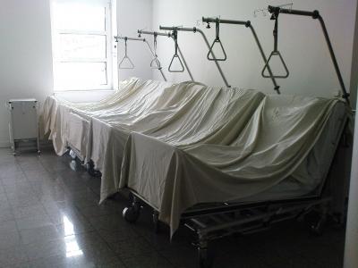 Im Krankenhaus...