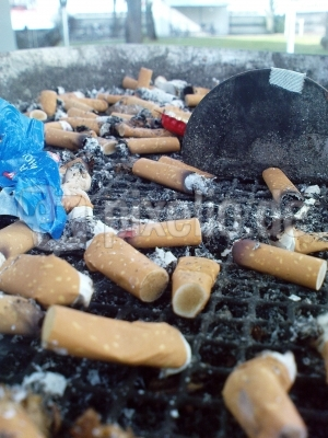 Rauchen macht schlank...