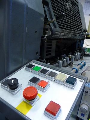 Offset Druckmaschine 2