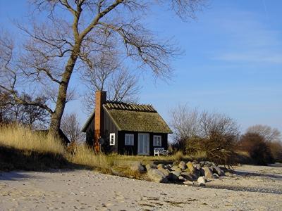 Ferienhaus direkt an der Ostsee