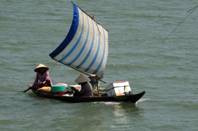 Boot in Hoi An, Vietnam