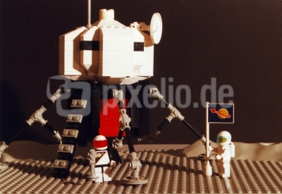 Mondlandung aus Lego