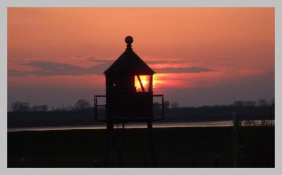 Abendromantik im Dangaster Hafen