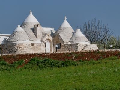 Trullihaus in Apulien (Italien)