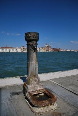 Wasserspeier in Venedig