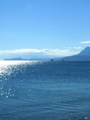 Berge und Meer - hoch