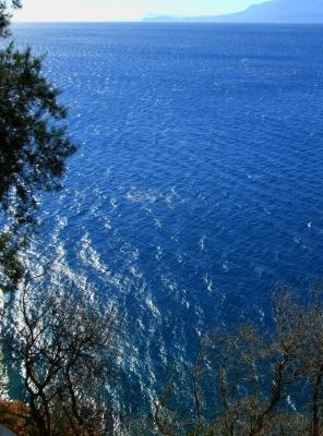 Steilküste mit Meerblick