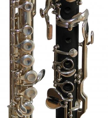 Klarinette und Querflöte