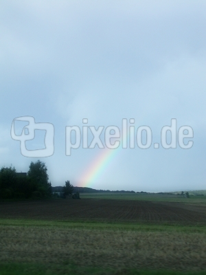 Regenbogen in Nürnberg