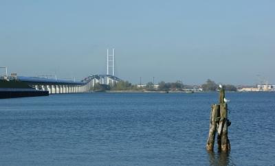 Rügenbrücke April 2009